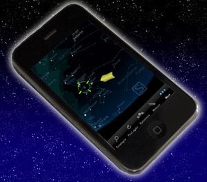 Sternenhimmel auf dem Iphone