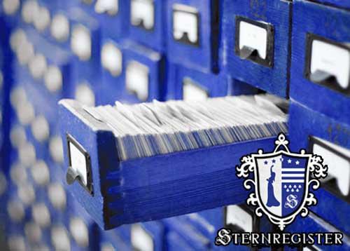 Sternregister Taufdatenbank