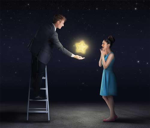Stern als Geschenkidee