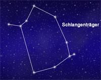 Sternbilder Schlangenträger