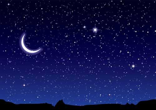 Sternbilder in den Jahreszeiten