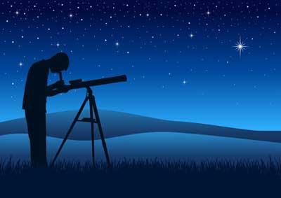 Stern am Himmel finden