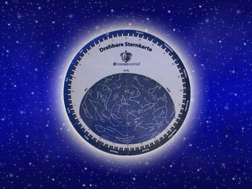 Drehbare Sternkarte