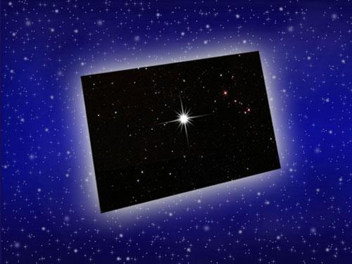 Sternfoto zu Ihrer Sterntaufe