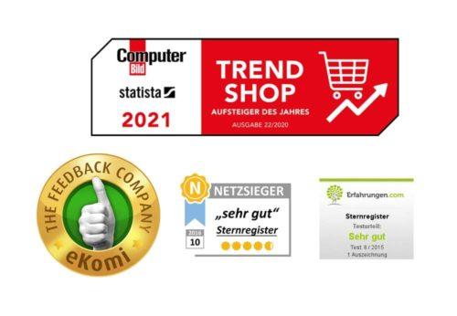 Auszeichnungen für Sternregister.de