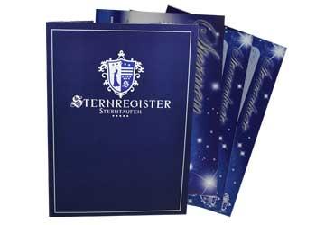Dokumentenmappe für Sterntaufe-Unterlagen