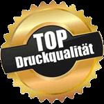 TOP Druckqualität