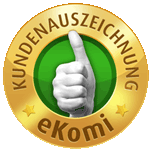 Ekomi Gold Siegel