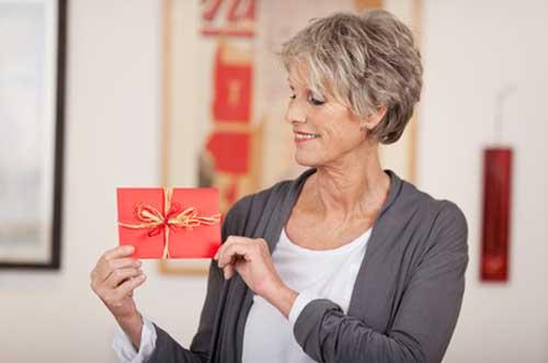Geschenke zum Ruhestand