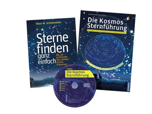 Kosmos Buch und drehbare Sternkarte