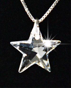 Kristall-Stern Anhänger