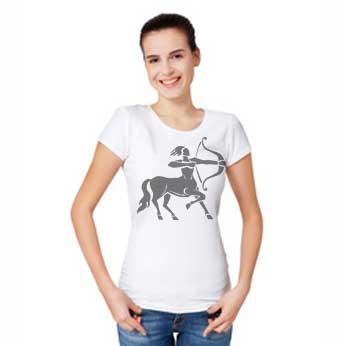 Frau mit Sternzeichen Schütze