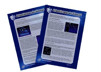 Anleitung: Orientierung am Sternenhimmel
