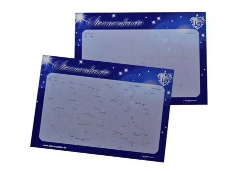 Sternkarten zum Auffinden Ihres Sterns