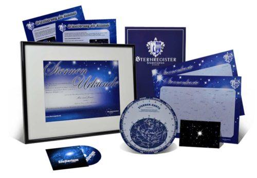 Sterntaufe Paket Premium
